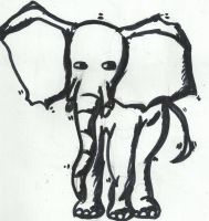 Olifant by lonneke125