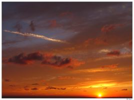 Sunset Painting I by kreis
