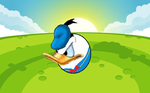 Donald Duck(Angry Birds style) by pikachuandpichu106