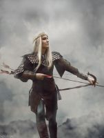 The Hobbit: The Battle of the Five Armies- Legolas by MilliganVick