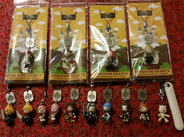 Kingdom Hearts Charm Collection by WanNyan