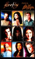 Firefly Sketch cards by AstroVisionary