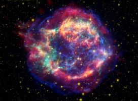 Wallpaper Cosmic Explosion2 by Hard-100