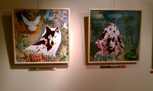 L'Gallery Art Show March 2012 by abcartattack