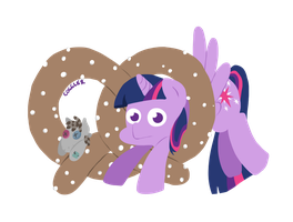 Twilight in the Sky with Pretzels by Coggler
