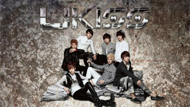 UKISS group wall by DragonRiddler
