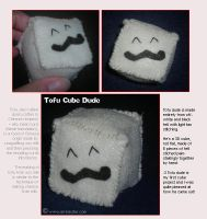 Tofu Cube Dude by airlobster