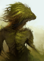 Moss Monster by ANicB