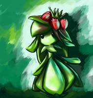 Lilligant by Iceixient