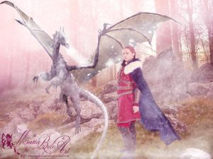 Dragon Trainer by MariaBeloArt