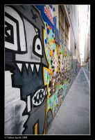 graffed alley by NJacobs
