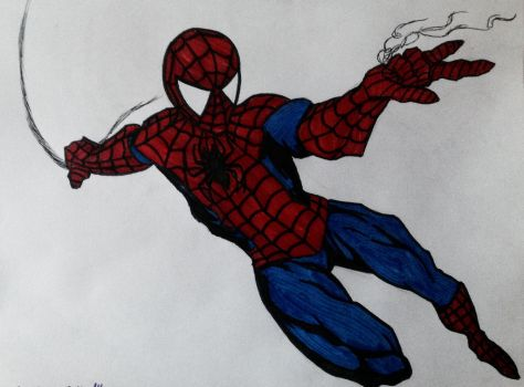 Super-Spidy by Xbeing