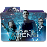 Cowboys and Aliens folder by janosch500