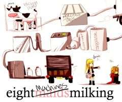 8 maids milking by starblacks