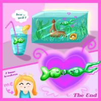 bubbl fish with happy end by PinkBunnyLilli