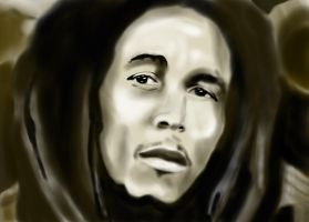 Bob Marley - King of Reggae by PeterVsAll