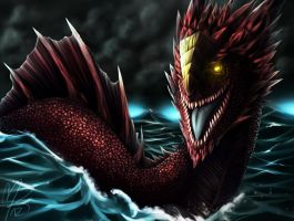 Red Leviathan by KelbremDusk