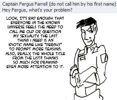 Questions: Farrell 2 by applescruff