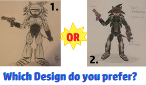 'Robby' Robohog - Which Design do you prefer? by spyaroundhere35