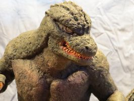 Always Godzilla Diorama Mugshot by Legrandzilla