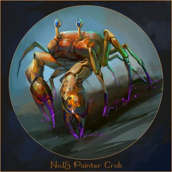 Specimens: Painter Crab by juliedillon