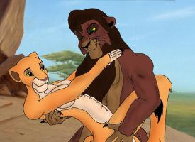 Kovu and Kiara's love by K-o-v-u