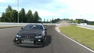 GT5 Nissan Skyline R34 by Squall-Darkheart