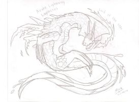 Lagiacrus by mickking