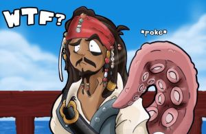 Captain Jack Sparrow by Dinkysaurus