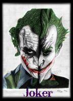 Joker's from the Dark Knight and Arkham Asylum by jokercrazy