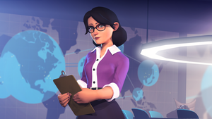 Miss Pauling by maxxy1996