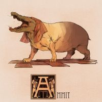 A is for Ammit by Deimos-Remus