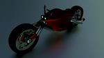 dirt bike by 3DProArt