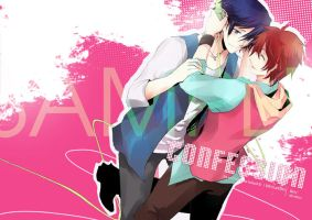 CONFESSION fanbook cover by ide-micky
