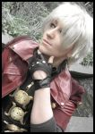 Dante Pondering by GingerAnneLondon