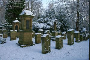 Winter cemetery stock 07 by Malleni-Stock