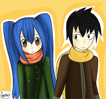 Fairy Tail Romeo x Wendy - Autumn by imma-fan-gurl
