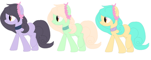 ADOPT SISTERS :OPEN: by eleneren-adopts