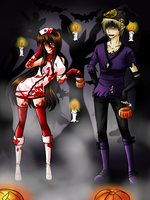 AnE: Happy Halloween by GazeRei