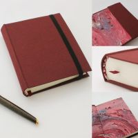 Red Moleskine Journal by GatzBcn