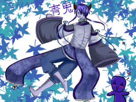 human ao oni by CheeseCakeProduction