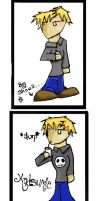 I have Roxas' Hair. by Katsumie