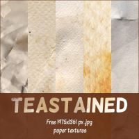 [resource] Teastained - 11 free paper textures by SirMeo