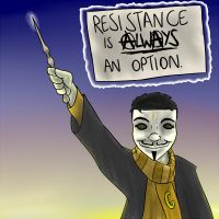 Harry Potter and the Underground Resistance by timsplosion