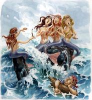The Sirens by postapocalypsia