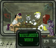 Cover Art: Wastelander's Weekly by RoyCalbeck