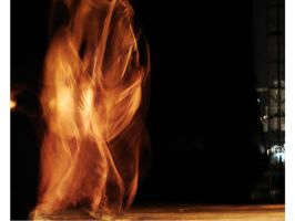 Fire dance by interferencia