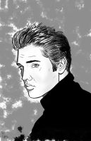 Elvis by Chazzwin