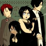 Goth kids by RosioChika