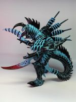 Custom Gigan by KaijuGreg